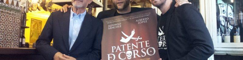 Arturo Pérez-Reverte, Alfonso Sánchez y Alberto López