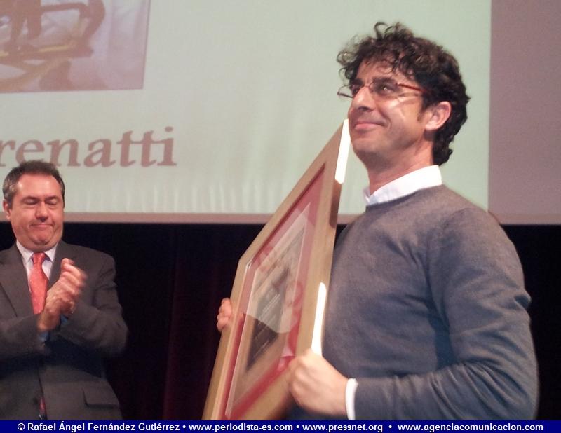 Emilio Morenatti, fotoperiodista, periodista. XXIV Premio de la Comunicación de la Asociación de la Prensa de Sevilla