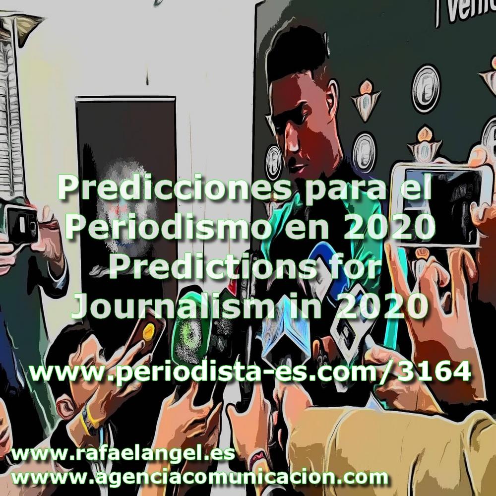Predicciones y Tendencias para el Periodismo en 2020
