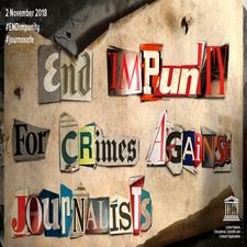 2 de noviembre: Fin a la Impunidad en Crímenes Contra Periodistas